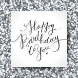 Happy birthday to you Stock Image
