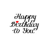 Happy birthday to you Stock Images