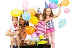 Happy birthday of toddler boy Stock Photos