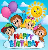 Happy birthday topic image 6 Stock Images