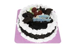 Happy Birthday Torte royalty free stock photos