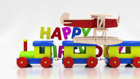 Happy birthday stock video