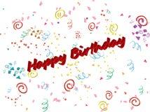 Happy Birthday/vector Stock Photography