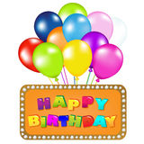 Happy Birthday. Vector Royalty Free Stock Photography