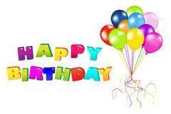 Happy Birthday. Vector Royalty Free Stock Photos