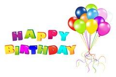 Happy Birthday. Vector Royalty Free Stock Photos