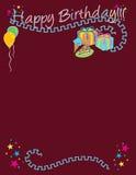 Happy Birthday! Vector / Clip Art Stock Image