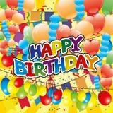 Happy Birthday. Royalty Free Stock Images