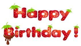 Happy Birthday!Vector illustration. Stock Image