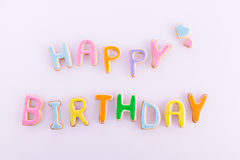 Happy birthday wishes Royalty Free Stock Images