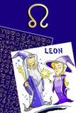 Happy birthday - zodiac sign. Zodiac sign for happy birthday card Royalty Free Stock Photography