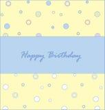 Happy birthday1 royalty free illustration
