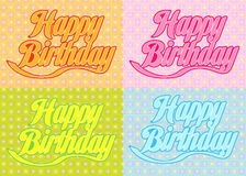 Happy birthday37 Stock Photo