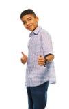 Happy black boy Royalty Free Stock Photos