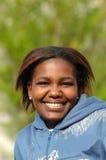 Happy black girl Stock Photos