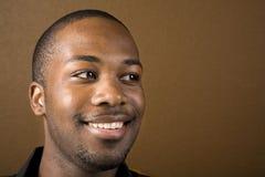 Happy black man Royalty Free Stock Image
