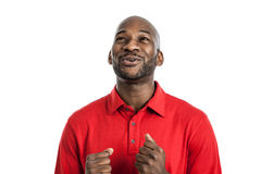 Happy Black Man Portrait Royalty Free Stock Photo