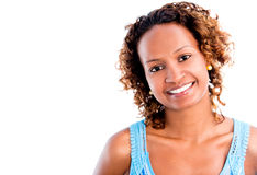 Happy black woman Royalty Free Stock Image