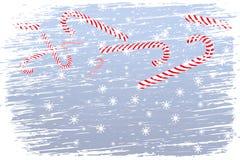 Happy Blizzard Christmas Royalty Free Stock Photo
