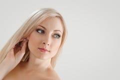 Happy blond Stock Image