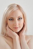 Happy blond Royalty Free Stock Photo