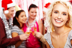 Happy blonde Royalty Free Stock Image