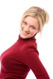Happy blonde Stock Photo