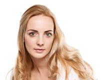 Happy Blonde Woman Stock Photos