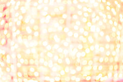Happy Bokeh Background with defocused blurry lights. Party, disc Royalty Free Stock Photos