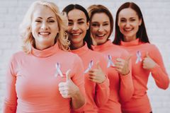 Happy and Bold Women in Day fight with Cancer. Ailment in Life. Bold in Life People. Beautyful Day for Fight with Cancer. Smiling Day with Family. Day with stock photography
