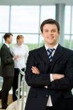 Happy boss Royalty Free Stock Photos