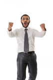 Happy boss. Stock Photo