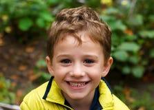 Happy boy. A portrait of happy little boy Stock Photo