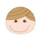 Happy boy cartoon icon image Royalty Free Stock Image