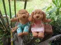 Pottery dolls. Stock Photography