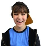 Happy boy isolated Stock Photography