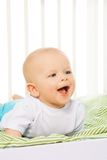 Happy boy laughing boy Royalty Free Stock Images