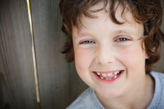 Boy laughing Stock Images