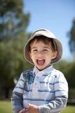 Happy Boy at Playground royalty free stock image