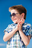 Happy boy portrait Royalty Free Stock Photos