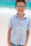 Happy boy on vacation Stock Photo