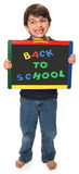 Happy Boy With Back To School Royalty Free Stock Image