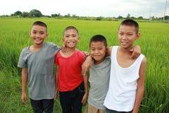 Happy boys Royalty Free Stock Image