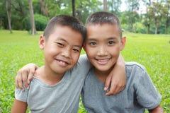Happy boys Stock Images