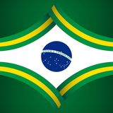 Happy Brazil Independence Day Vector Template Design Illustration. Brazil Independence Day Vector Template Design Illustration royalty free illustration