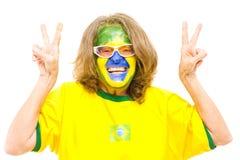 Happy Brazilian Stock Photo