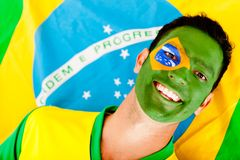 Happy Brazilian man Royalty Free Stock Photo
