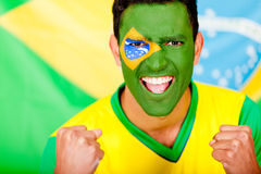Happy Brazilian man Royalty Free Stock Photography