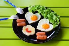 Happy breakfast Royalty Free Stock Photos