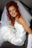 Happy bridal. My sweet wife Stock Image